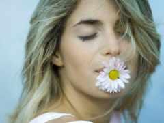 cvety, рту, цветком