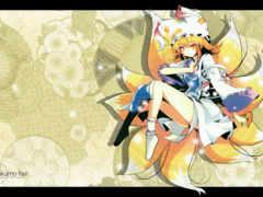touhou, anime Фон № 30956 разрешение 1920x1200