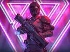 солдат, neon, skan