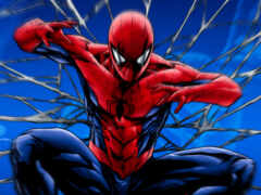 spiderman, мужчина, паук