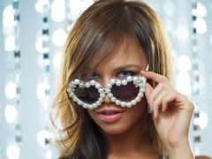 очки, devushki, очках