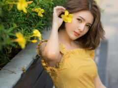 красавица, china, модель