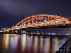 kobe, мост, park