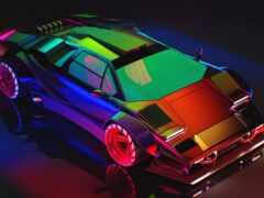 car, краска, colorful