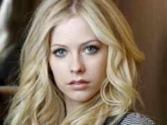 blonde, глаз, серый