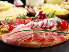 колбаса, еда, мясо