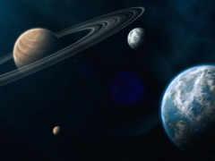 космос, planets, desktop
