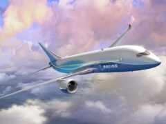 plane, небо, пассажирский