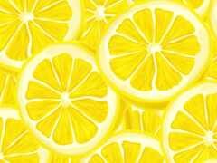 lemon, pattern, вектор