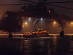 вертолет, porsche