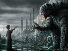 artwork, апокалипсис, robot