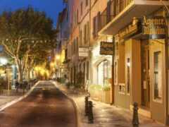 вечер, улица, город
