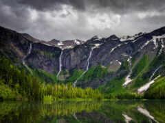 park, national, glacier