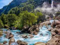 водопад, картинка, pro