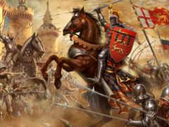 война, столетняя, сражение