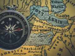 vebinara, map, compass