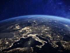 earth, ночь, европа