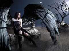 девушка, ангела, mysticism