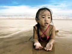 песок, море, пляж