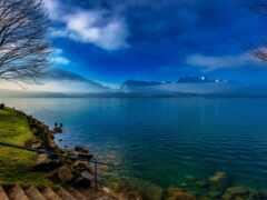 озеро, thun, swiss