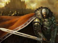 strong, воин, меч