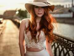 волос, color, red