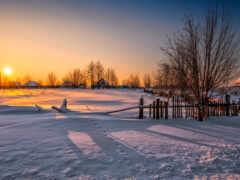 słońca, zima, pazlyi