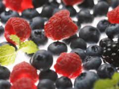 малина, ягоды
