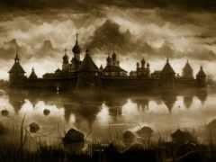 город, orthodox, обитель