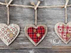 сердце, wooden, дерево