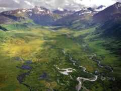 аляска, природа, land