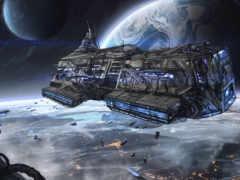 корабли, космические, cosmos
