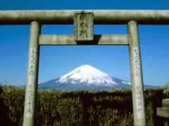 гора, фудзи, япония