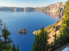 озеро, crater, funart