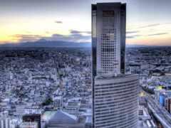 город, небоскрёб