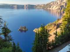 озеро, crater, самые