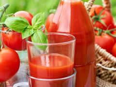 томатный сок,  красные помидоры