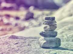 caminho, камни, pedras