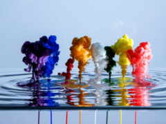 краска, water