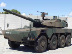 колёсный танк mcv