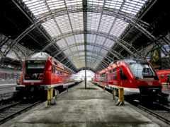 поезда, станция, поезд