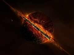 planet, конец, космос