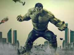 плакат, hulk, art