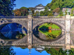 tokyo, дворец, япония