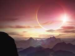eclipse, солнечный