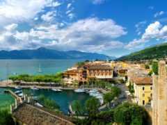 italian, горы, дома