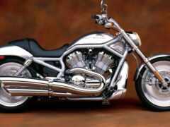 мотоцикл, harley, davidson
