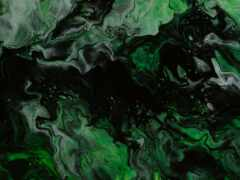 зелёный, жидкий, abstract