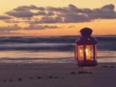 закат, wallbox, море