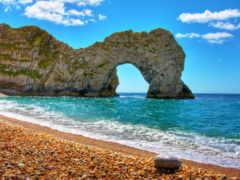пляж, море, rock